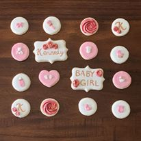 Baby Shower Royal Iced Sugar Cookies
