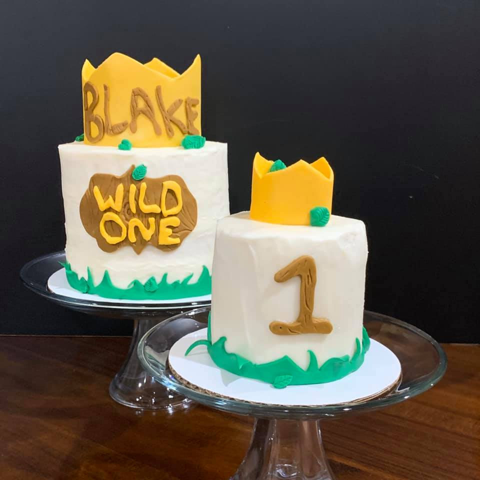 Wild One Birthay Cake & Smash Cake