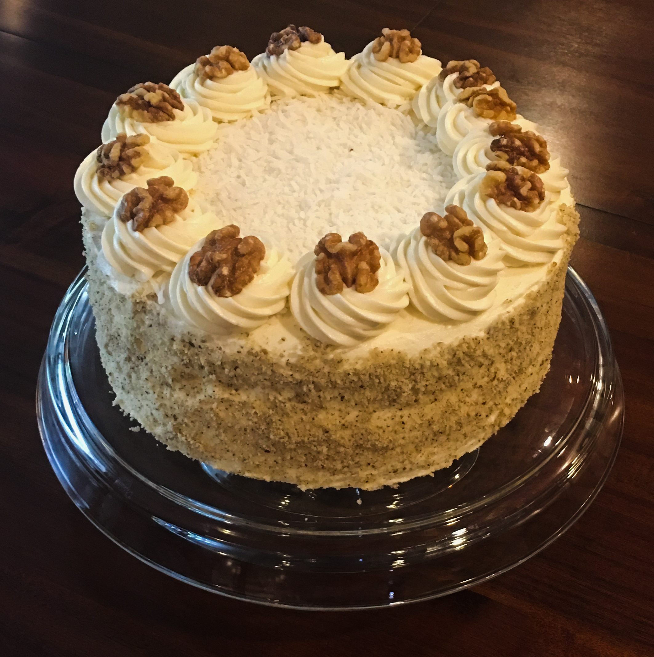 Black Walnut Cake